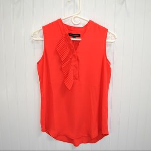 NWT! Sleeveless Red Blouse